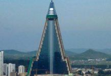 Το ξενοδοχείο Ριουγκγιόννγκ είναι το υψηλότερο αχρησιμοποίητο κτίριο στον κόσμο