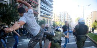 Επεισόδια με χημικά στην Αθήνα για την επίσκεψη Πομπέο