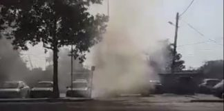 Θεσσαλονίκη: Φωτιά σε σταθμευμένο ΙΧ (vd)