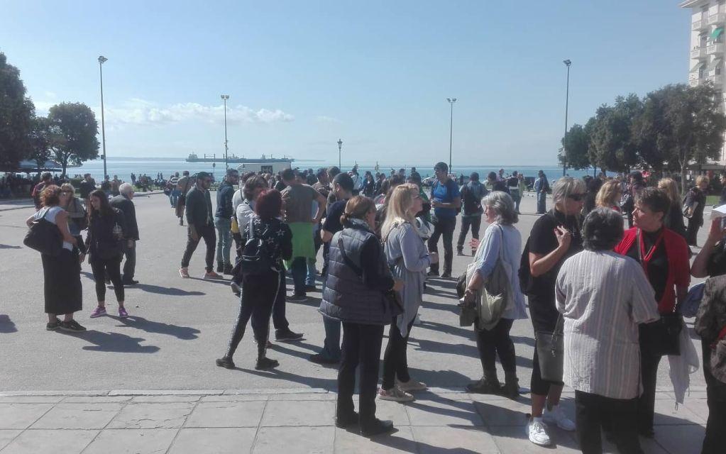 Θεσσαλονίκη: Διαμαρτυρία για το ΚΕΘΕΑ (pics)