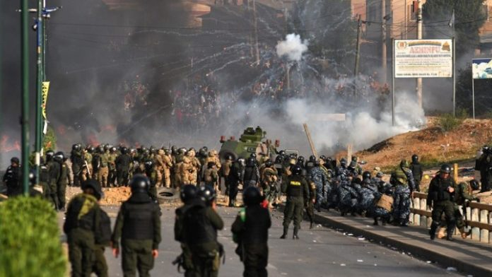 Άλλοι τέσσερις νεκροί στις διαδηλώσεις στη Βολιβία