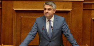 Οδ. Κωνσταντινόπουλος:«Συμφέροντα οικογενειοκρατικά στην Πελοπόννησο, που τέμνονταν σε όλα τα επίπεδα με την κυβέρνηση ΣΥΡΙΖΑ, εμπόδισαν το έργο ΣΔΙΤ»