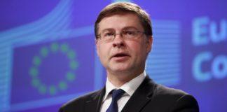 Β. Ντομπρόβσκις: Δεν υπάρχει ανάγκη η Ιταλία και η Γαλλία να λάβουν άμεσα μέτρα για τους προϋπολογισμούς τους