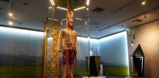 Εγκαίνια της έκθεσης του Εθνικού Μουσείου του Καζακστάν για τη Μεγάλη Στέπα στο Επιγραφικό Μουσείο