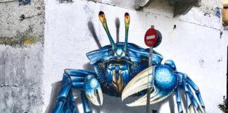 Ένα εντυπωσιακό έργο τέχνης «ζωντάνεψε» στην περιοχή του Μεταξουργείου