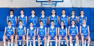 Εθνική Γυναικών: Η 12άδα για τον αγώνα με Σλοβενία