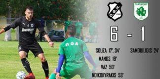Φιλική νίκη (6-1) του ΟΦΗ επί του ΠΟ Ατσαλένιου