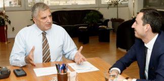 Γ. Πατούλης: «Στόχος μας η ισότιμη ανάπτυξη και των 66 δήμων της Αττικής, με έργα που θα ωφελήσουν τους πολίτες»