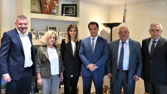 H διεύρυνση ζήτησης των ελληνικών προϊόντων αλουμινίου, θέμα συζήτησης του Ά. Γεωργιάδη με την Ελληνική Ένωση Αλουμινίου