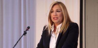Η Φώφη Γεννηματά σε σύσκεψη στελεχών του ΠΑΣΟΚ