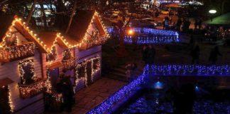 """Η """"Ονειρούπολη"""" της Δράμας έφερε τα Χριστούγεννα στην πλατεία Αριστοτέλους"""