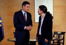 Ισπανία: PSOE και Unidas Podemos υπέγραψαν συμφωνία για τον σχηματισμό κυβέρνησης συνασπισμού