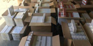 Κατασχέθηκαν περισσότερα από 165.000 πακέτα τσιγάρα