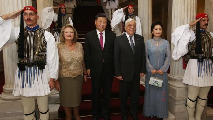 'Κίνα και Ελλάδα ξεκινούν μια νέα πορεία συμπόρευσης και συνδημιουργίας', υπογράμμισε ο ΠτΔ Πρ. Παυλόπουλος