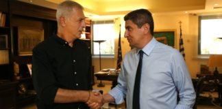 Ο Λευτέρης Αυγενάκης θα συναντηθεί με εκπροσώπους από την ΠΑΕ Ολυμπιακός