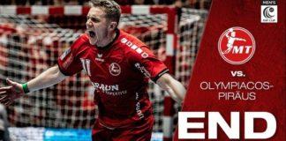 Ο Ολυμπιακός έχασε αλλά...ελπίζει στο EHF Cup