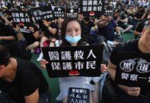 Oι διαδηλωτές του Χονγκ Κονγκ μπαίνουν στους υπονόμους για να διαφύγουν από την πολυτεχνειούπολη