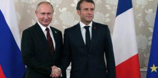 Πούτιν και Μακρόν συζήτησαν για την σύνοδο για την Ουκρανία