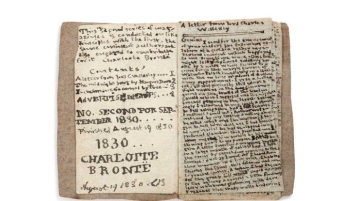 Πρόδρομος της «Τζέιν Έιρ» βιβλιαράκι της 14χρονης Σαρλότ Μπροντέ