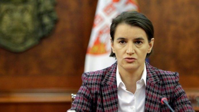 Σερβία: Σημαντικός οικονομικός εταίρος η Γερμανία, δήλωσε η πρωθυπουργός Α. Μπρνάμπιτς