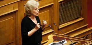 Σία Αναγνωστοπούλου  Η ΝΔ θέλει να καλύψει πρόσωπα που κόστισαν στο δημόσιο