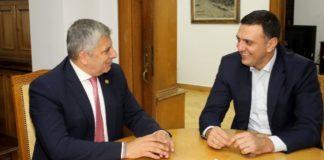 Συνάντηση του Γ. Πατούλη με τον Β. Κικίλια για το θέμα της εγκατάστασης μηχανολογικού εξοπλισμού σε νοσοκομεία της Αττικής