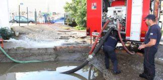 Τη νότια Κρήτη πλήττει η «Βικώρια». Απαντλήσεις υδάτων και δημιουργία περασμάτων για το νερό στον Δήμο Φαιστού