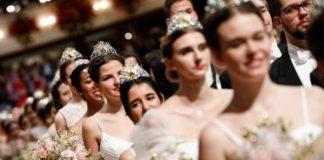 Tιάρες Lacroix για τις Ντεμπιντάντ στην Όπερα της Βιέννης