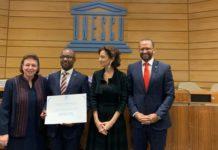 Το βραβείο «Μελίνα Μερκούρη» στην οργάνωση Instituto do Patrimonio Cultural του Πράσινου Ακρωτηρίου