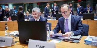 Το θέμα των δασμών στα ελληνικά αγροδιατροφικά προϊόντα έθεσε ο ΓΓ Εξωστρέφειας στο Συμβούλιο Υπουργών Εμπορίου