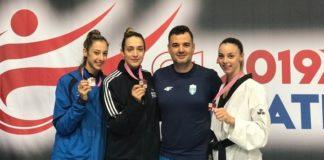 Τρία μετάλλια για τα μέλη της Προολυμπιακής ομάδας στο G1 του Ζάγκρεμπ