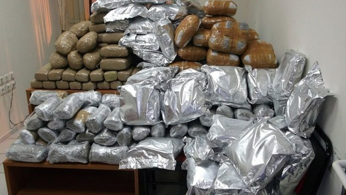 Ξεπερνά τα 390 εκατ. ευρώ η εμπορική αξία των κατασχεμένων ποσοτήτων ναρκωτικών ουσιών στην Ελλάδα το 2018