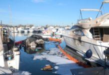 Υπό έλεγχο η πυρκαγιά σε σκάφη στη Γ' μαρίνα Γλυφάδας