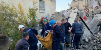 Αλβανία: Στους 25 οι νεκροί – Ημέρα πένθους στη χώρα