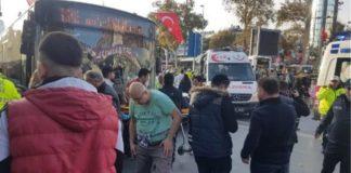 Κωνσταντινούπολη: Λεωφορείο έπεσε σε στάση με κόσμο (vd)