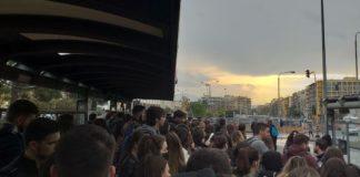 Σίνδος: Φοιτητές του ΤΕΙ στοιβάζονται σαν σαρδέλες στον ΟΑΣΘ