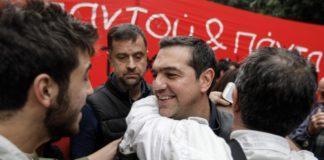 Στην πορεία για το Πολυτεχνείο ο Αλέξης Τσίπρας (pics)
