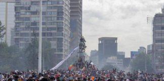 Συνεχίζονται για 40η ημέρα οι κινητοποιήσεις στη Χιλή
