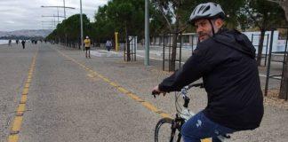 Κ. Ζέρβας: Πρωινή ποδηλατάδα στη νέα παραλία Θεσσαλονίκης (vd)