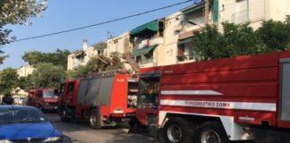 Αλεξάνδρεια: Φωτιά σε μονοκατοικία, πυροσβέστες απομάκρυναν ηλικιωμένη