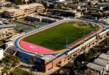 Στα χρώματα του Pride, διάδρομοι στίβου στο Λος Άντζελες