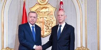 Αιφνιδιαστική επίσκεψη Ερντογάν στην Τυνησία