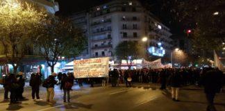 Θεσσαλονίκη: Η πορεία τελείωσε – Άνοιξε η Εγνατία