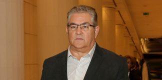 Χανιά : Με εργαζόμενους στο χώρο της δημόσιας υγείας συναντήθηκε ο Δημήτρης Κουτσούμπας.