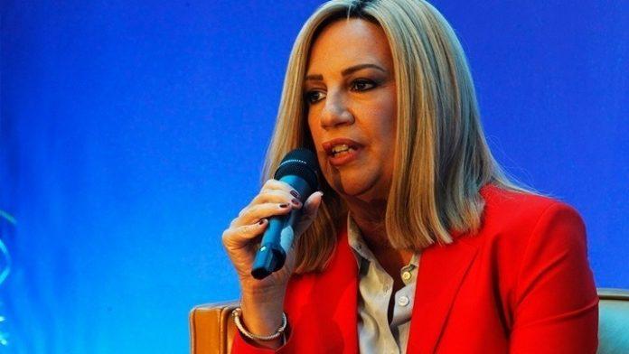 Φώφη Γεννηματά: «Εθνική εγρήγορση με αποφασιστικότητα - Διάλογος δεν σημαίνει εκπτώσεις»