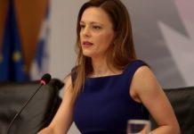 Για «περικοπές συντάξεων» κατηγορεί την κυβέρνηση η Έφη Αχτσιόγλου