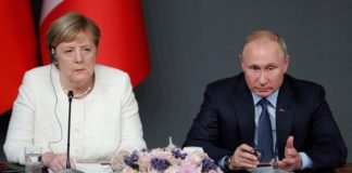 Η Μέρκελ συζήτησε το θέμα της διπλωματικής επίλυσης της λιβυκής σύγκρουσης με Ερντογάν και Πούτιν