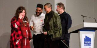 Με το βραβείο Turner εικαστικών και οι τέσσερις τελικοί διεκδικητές