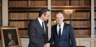 Στήριξη από ΕΛΚ και Ντ. Τουσκ στην Ελλάδα