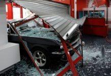 Νέα εισβολή με αυτοκίνητο σε κατάστημα, αυτή τη φορά στην Αθηνών - Λαμίας